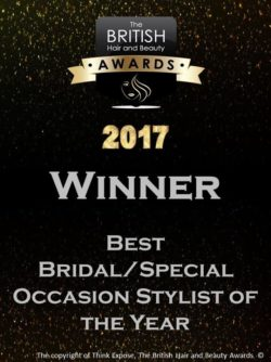 2017 winner - best bridalspecial occasion stylist of the year