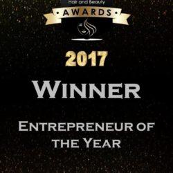 2017 winner - entrepreneur of the year