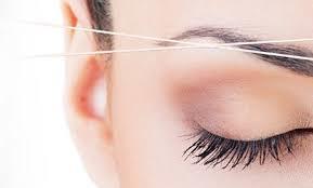 eyebrow threading